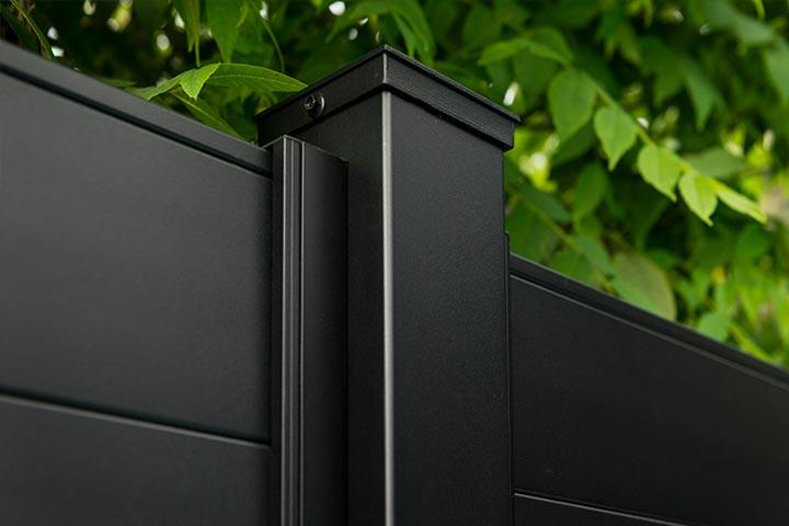Sleek-Fence-Posts-aluminum-privacy-fence-diy-kits