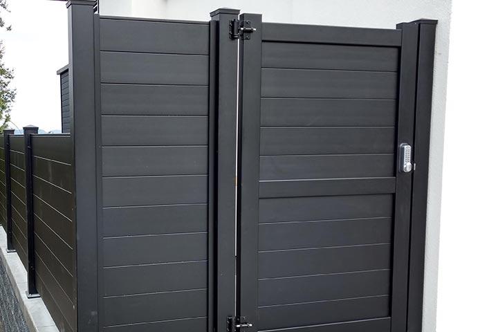 Sleek-Gate-Kits-aluminum-privacy-fence-diy-kits