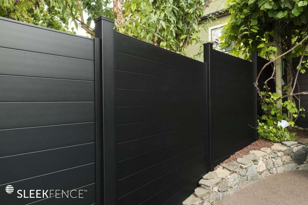 Sleek modular Privacy fence