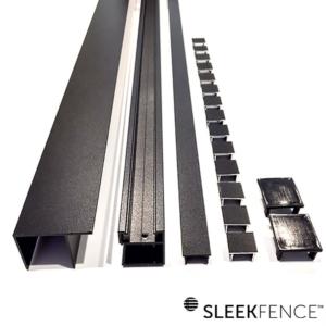 sleek-fence-aluminum-channel-set